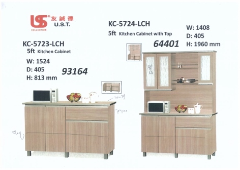 Kitchen Cabinet KC 5723 & 5724 LCH - Universal Furniture Singapore on residential metal kitchen cabinets, 20 in kitchen cabinets, car cabinets, tiara maple cabinets, kansas city custom outdoor cabinets, k-series kitchen cabinets, furniture made from cabinets,